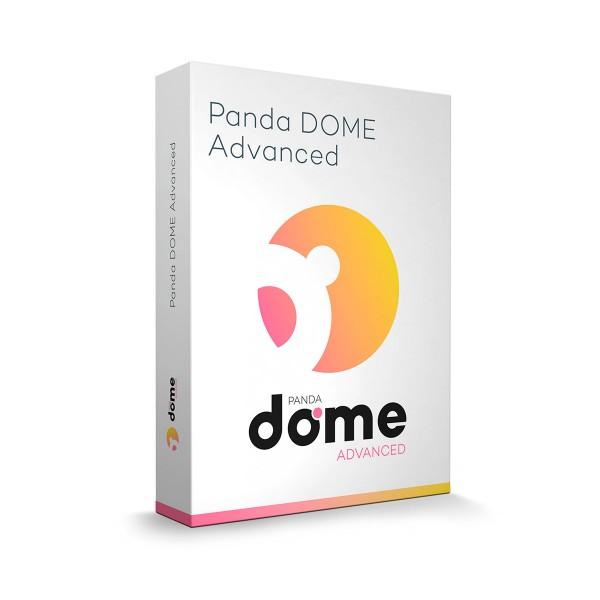 Panda antivirus dome advanced 1 licencia 1 año protección avanzada para windows, mac, android e ios