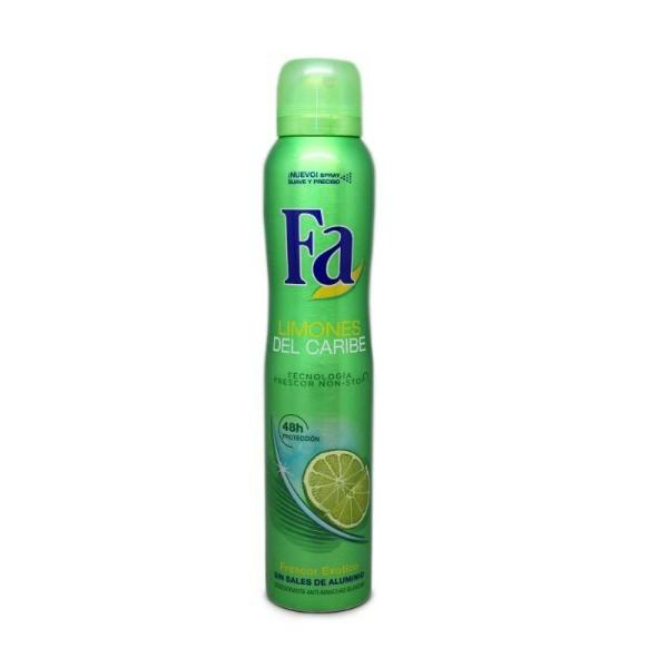 Fa desodorante limones del caribe spray 200 ml