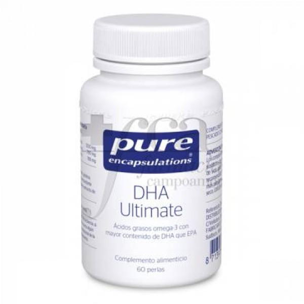 PURE ENCAPSULATIONS DHA ULTIMATE 60 CAPS