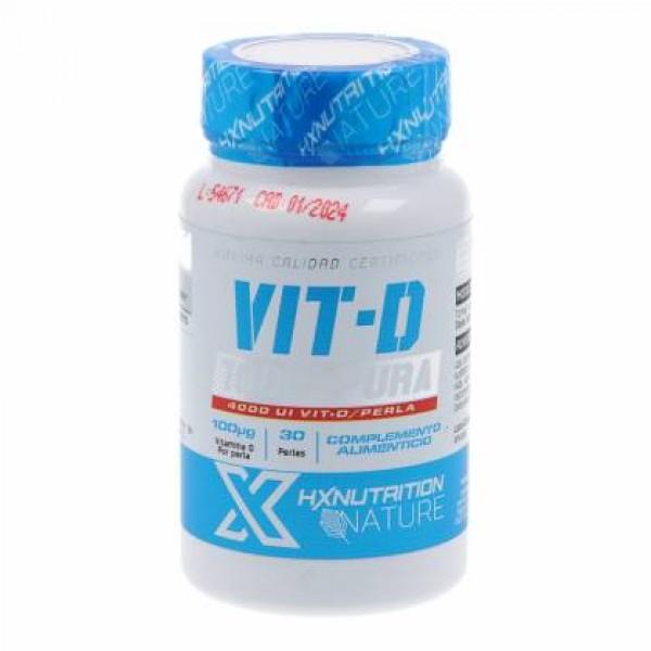VITAMINA D HXNUTRITION NATURE 30 PERLAS