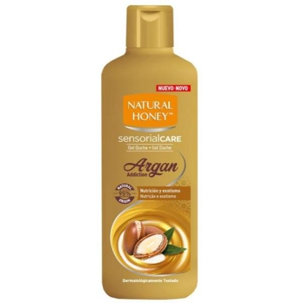 Natural Honey gel de ducha Argan Addiction 650 ml